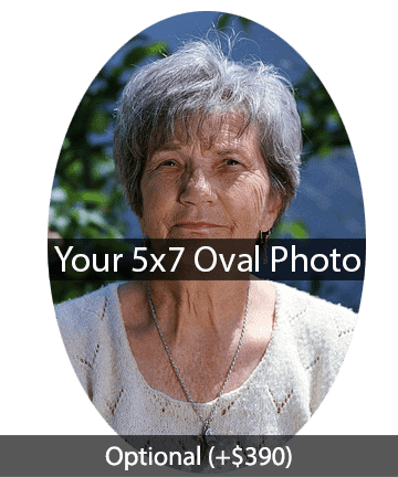 5x7 Oval